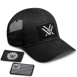 Black Patch Hat Vortex Optics Sportswear