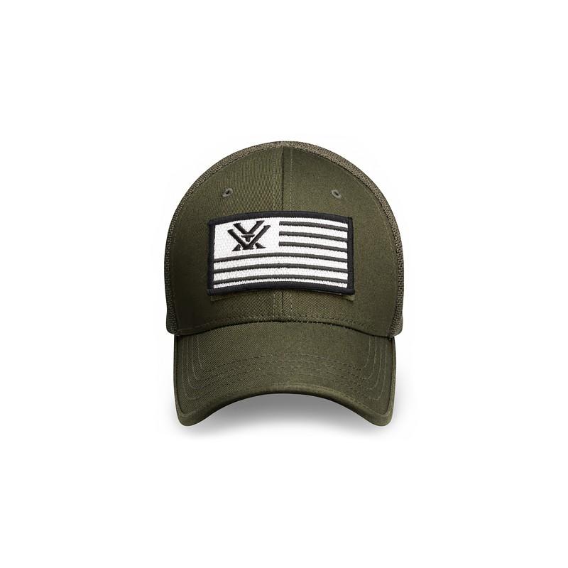 b390f8292b09b ... Flex Fit V Nation Flag Hat Green Vortex Optics Sportswear ...