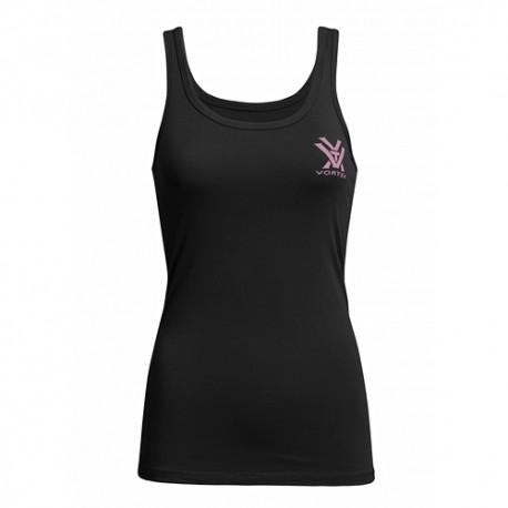 Vortex Optics Ladies Slim Fit Black Tank Top Sportswear